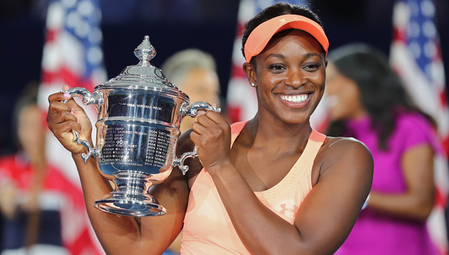 Sealed with a trophy: Sloane Stephens' huge summer ends with the US Open title.