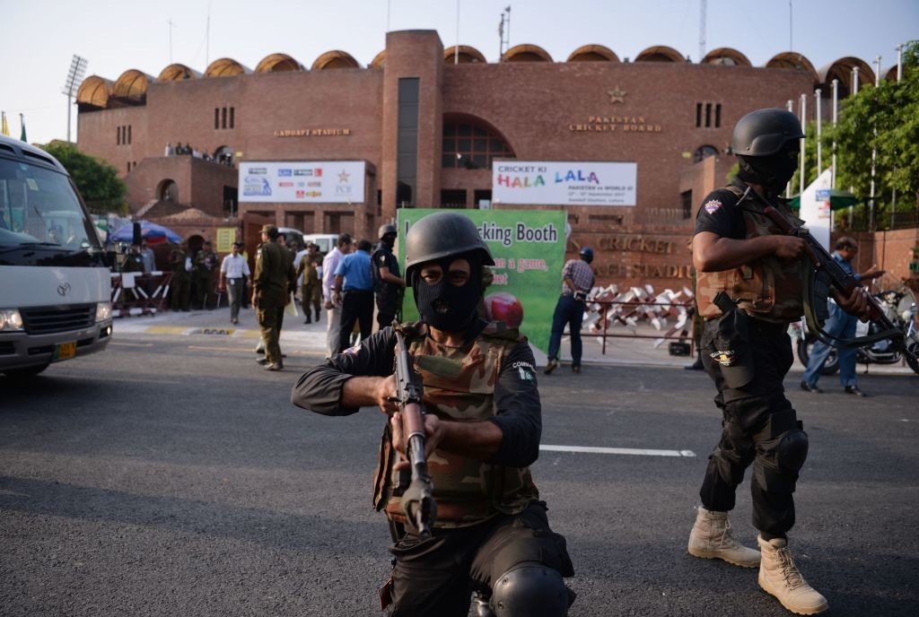 Lahore has hosted all the international matches in the country in the last two years under heavy security presence.