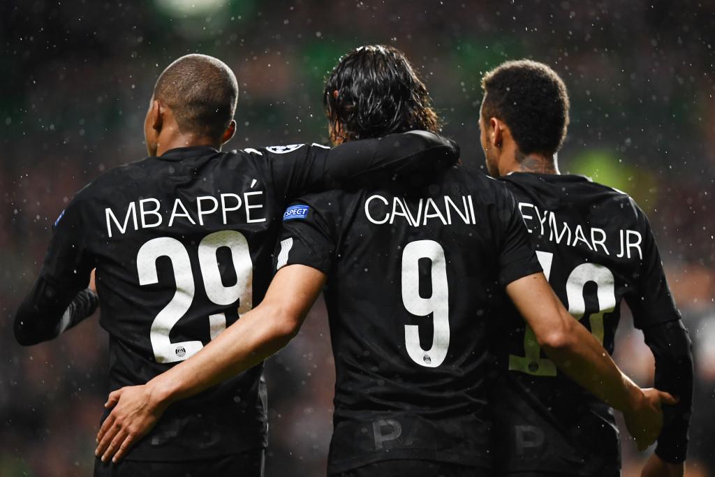 PSG possess individual stars with Kylian Mbappe, Cavani and Neymar
