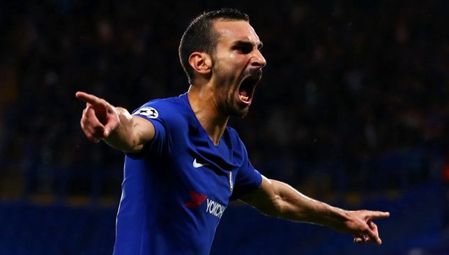 Zappacosta was on target making his full debut for Chelsea.