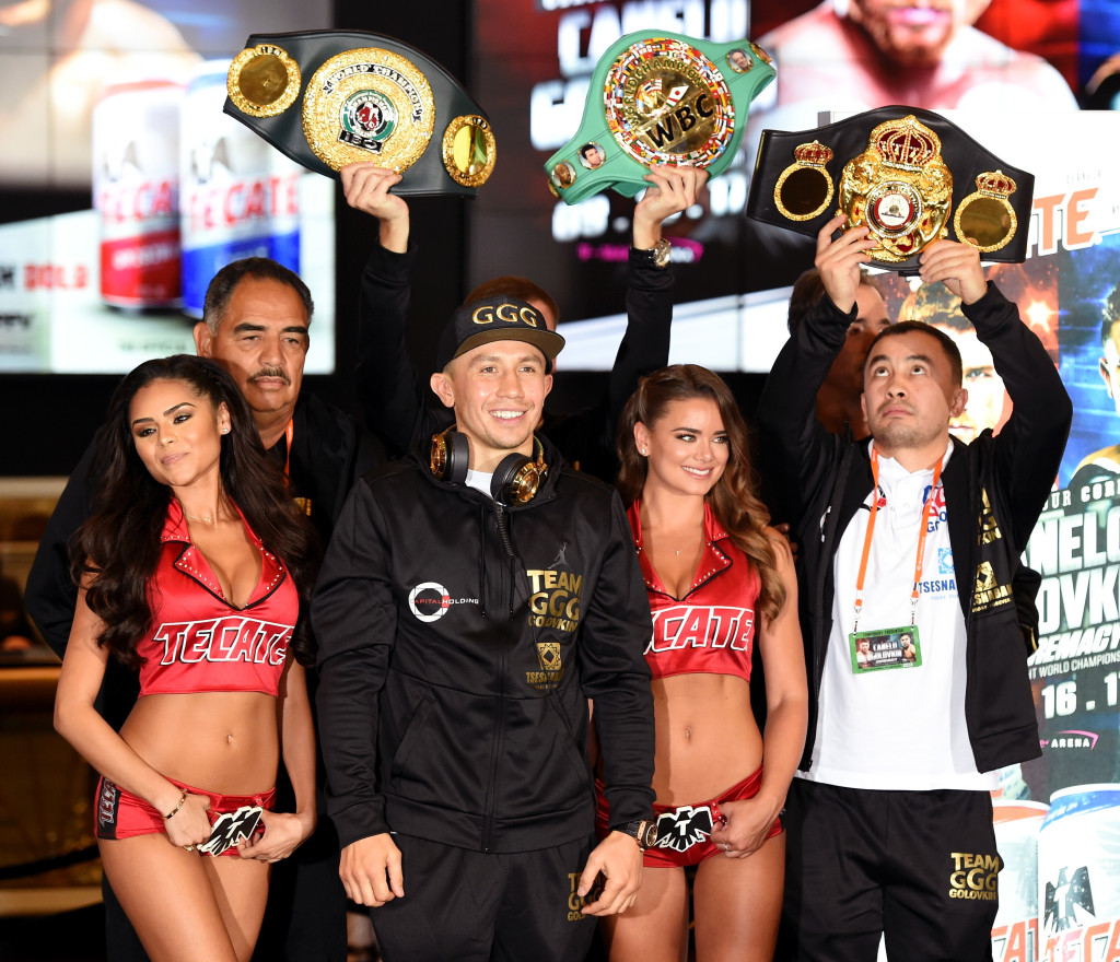 Golovkin will need a finish to ensure he keeps hold of his belts