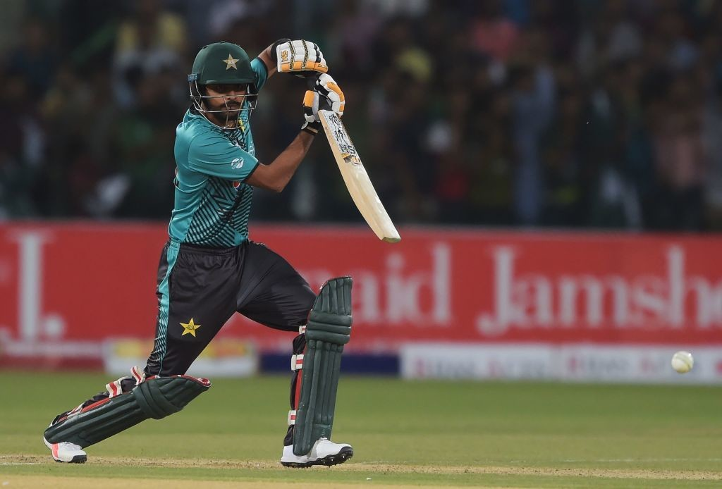 Babar Azam once again top-scored for Pakistan with 45 runs.