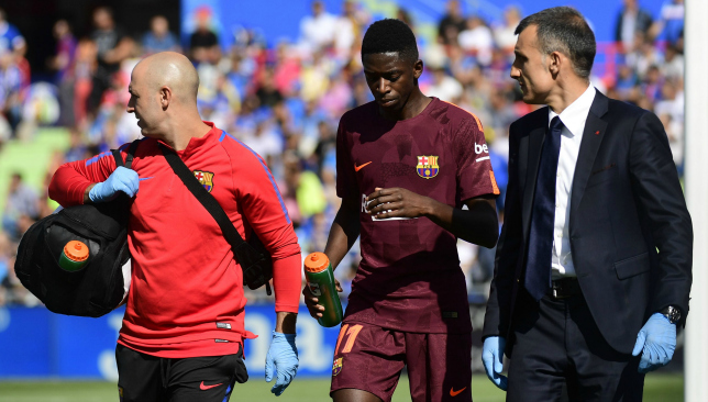 Rotations begin for Barcelona against Getafe