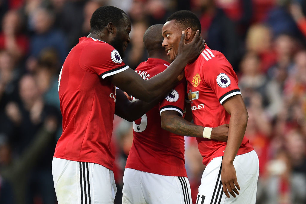 Anthony Martial made it 4-0