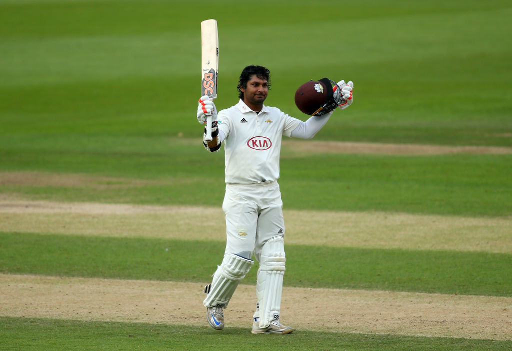 Sangakkara has score eight centuries including a highest of 319 this season.