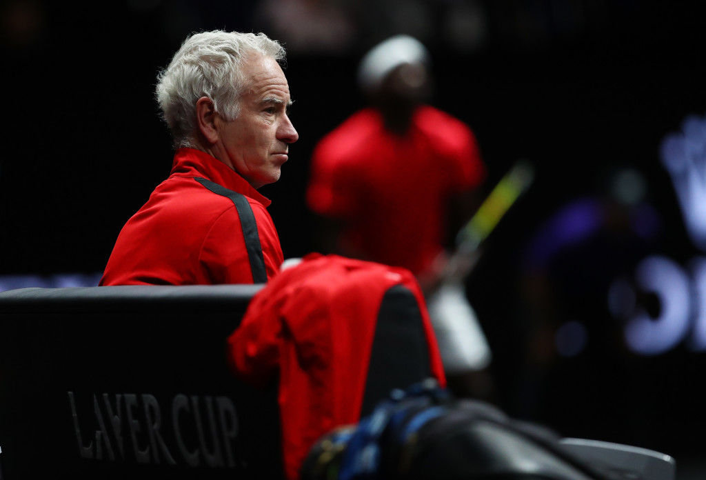 Team World captain: John McEnroe.