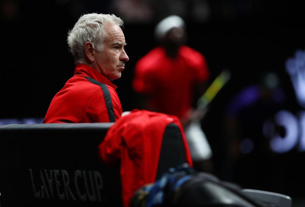 Team World captain: John McEnroe.