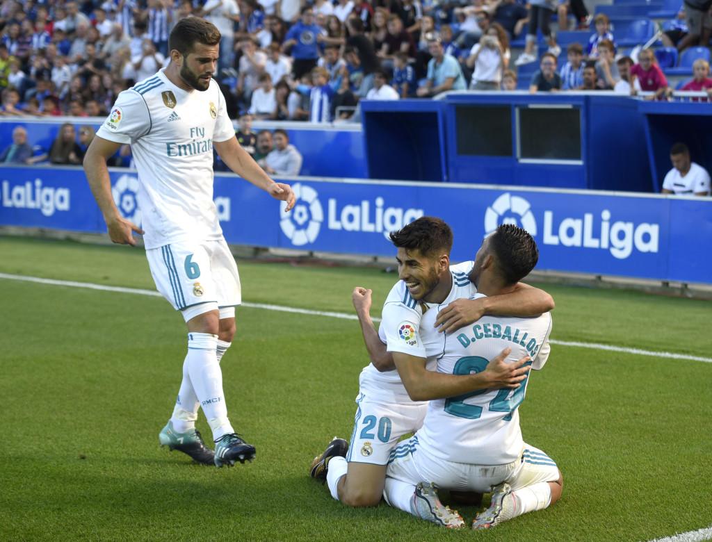 Alaves v Real Madrid 23 September 2017