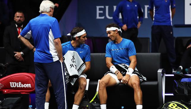 Trifecta: Borg, Federer and Nadal.