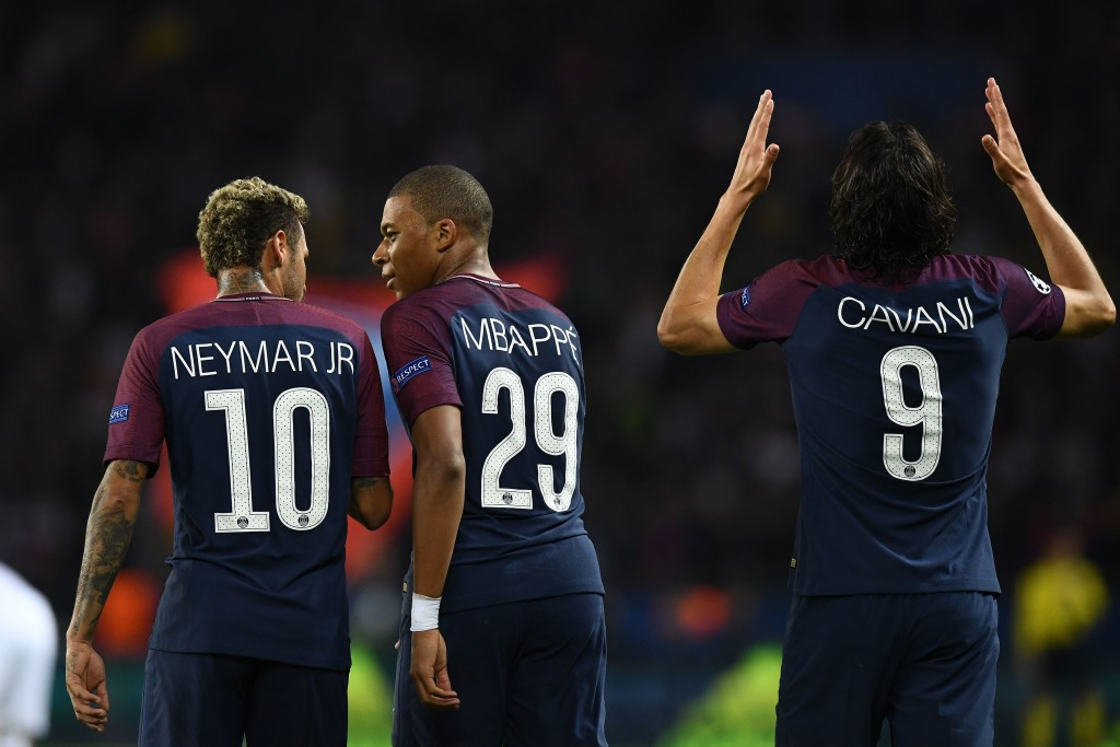 Cavani, Neymar and Mbappe are just getting started