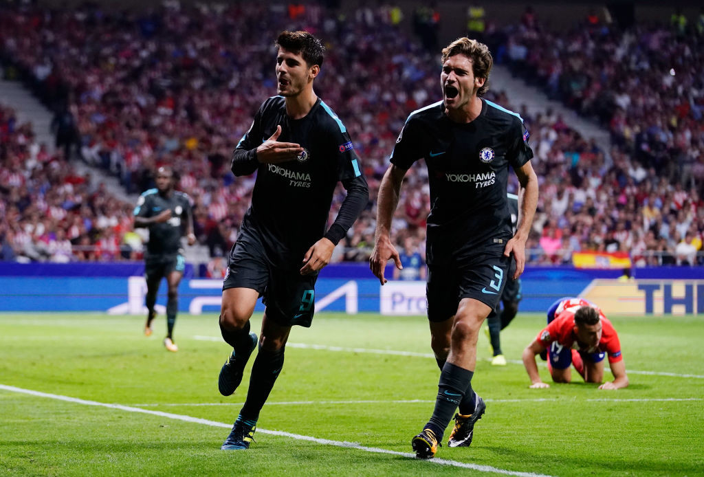 Goals from Morata and Batsayushi had led Chelsea to victory on Wednesday.