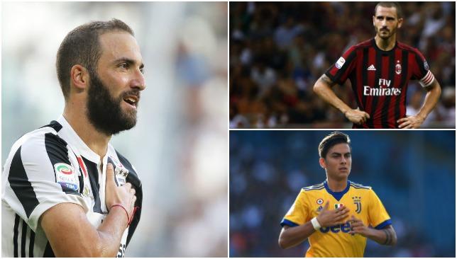 Earn a wedge: Serie A stars.