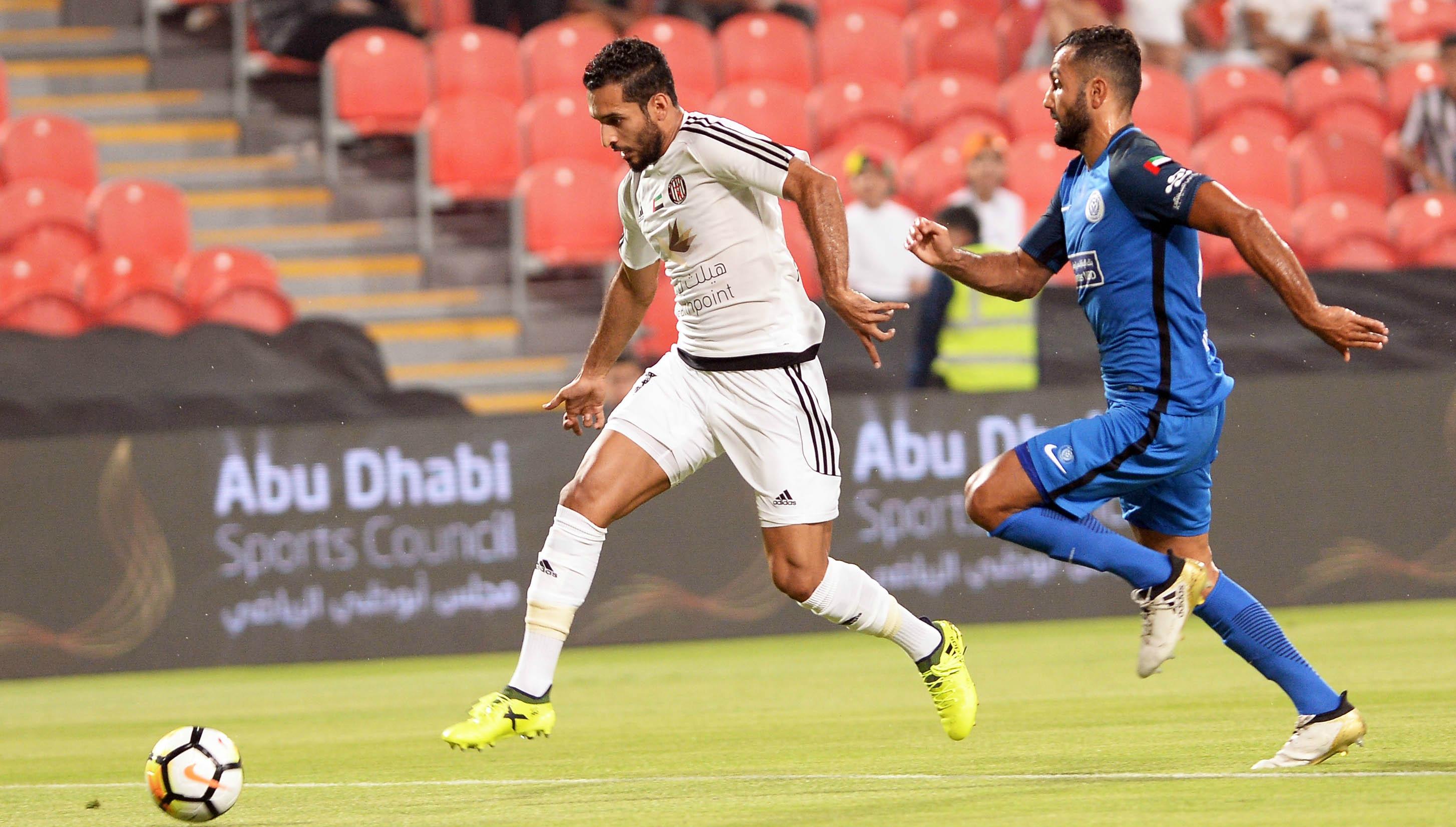 Al Nasr downed the champions 4-2 last night