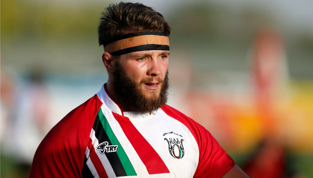 Recent UAE international Josh Ives scored Eagles' first-ever try against Dragons