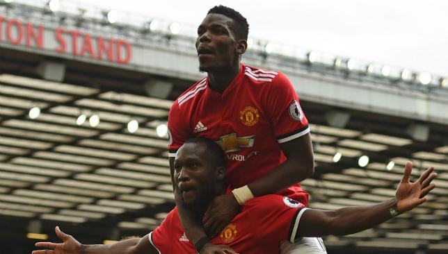 super popular 78272 14cc6 Man United duo Paul Pogba and Romelu Lukaku top list of 20 ...