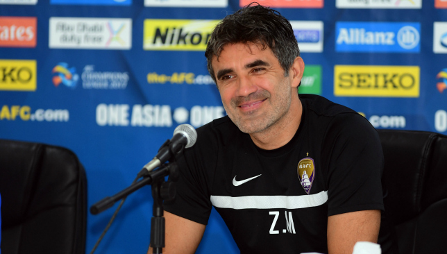 Zoran Mamic wants his players to show spirit