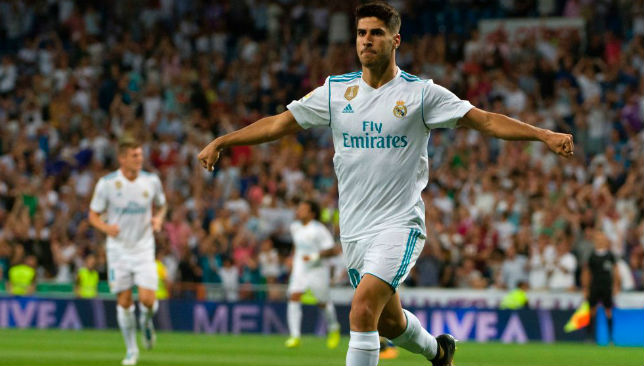 e12da718218 Real Madrid news  Marco Asensio makes Cristiano Ronaldo shirt number ...