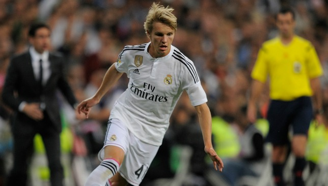 a6d8844b7 Martin Odegaard  signs new contract extension  with Real Madrid ...