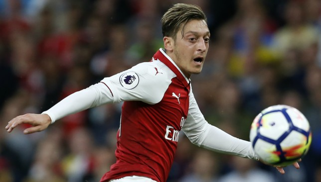Ozil is out of contract at the end of the season.