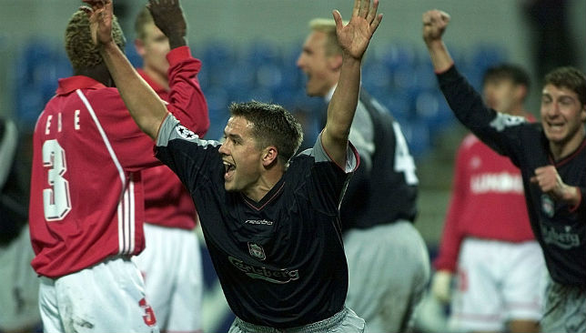 Michael Owen says he never felt pressure during his playing days.