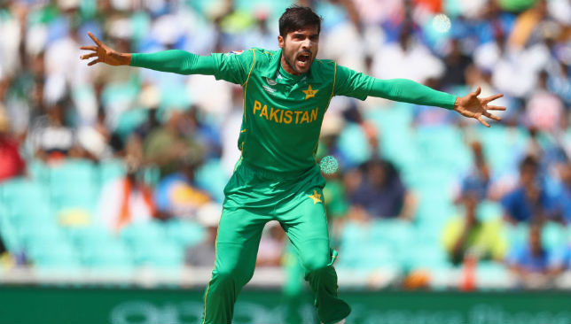 Lethal with the ball: Mohammad Amir.