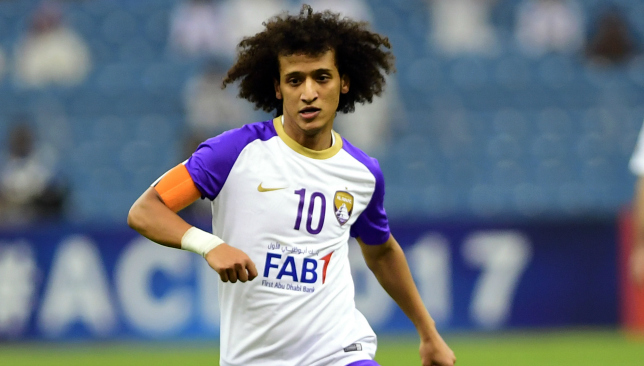 Omar Abdulrahman's influence on Al Ain this season has been diminished.