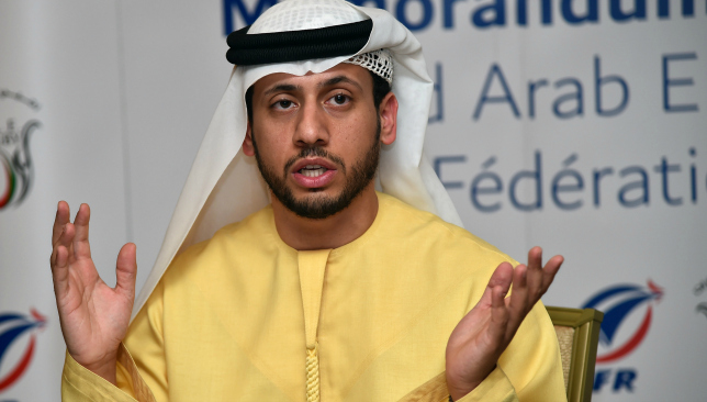 UAE Rugby Federation secretary general Qais Al Dhalai