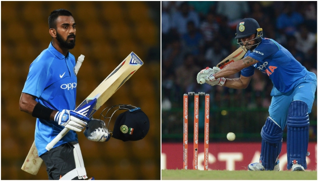 Will it be Rahul or Pandey in the number four slot on Thursday?