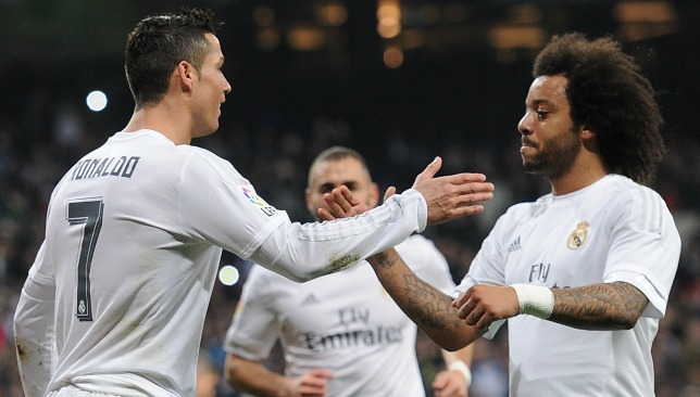 Image result for Real Madrid's Marcelo linked with move to join Cristiano