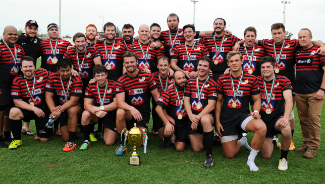 Sarries were champions of West Asia in 2014/15
