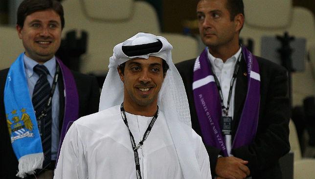 Sheikh Mansour bin Zayed al Nahyan (C)
