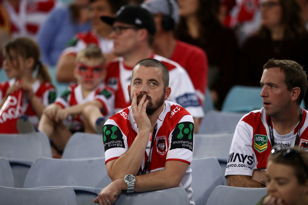 St George fans come to terms with another losing season.