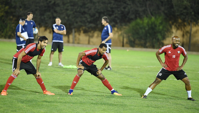 Mission improbable: The UAE are gearing up in Jordan (UAE FA).