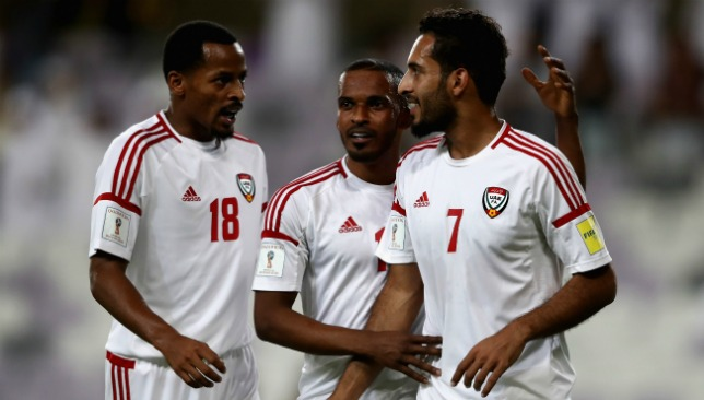 The UAE's hopes are hanging by a thread.