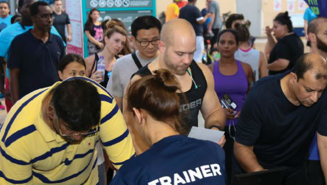 Sign on the dotted line: Get Driver Fit is sure to be popular in Abu Dhabi.