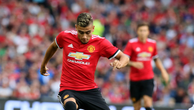 Manchester United fans divided over Andreas Pereira's loan move to Valencia