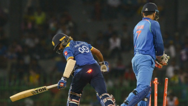 MS Dhoni now has a century of stumpings in ODIs.