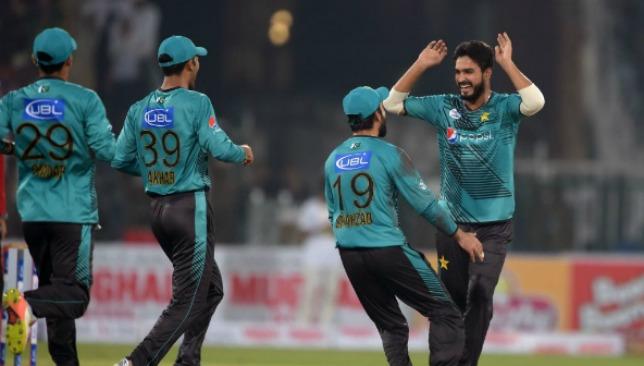 Rumman Raees picked up two wickets in Pakistan's win.