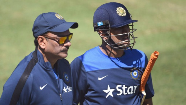 Ravi Shastri says MS Dhoni is still India's best bet.