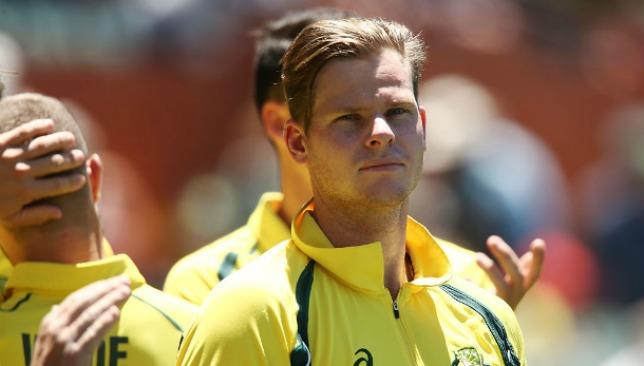 Steve Smith scored a half-century in Australia's 103-run win