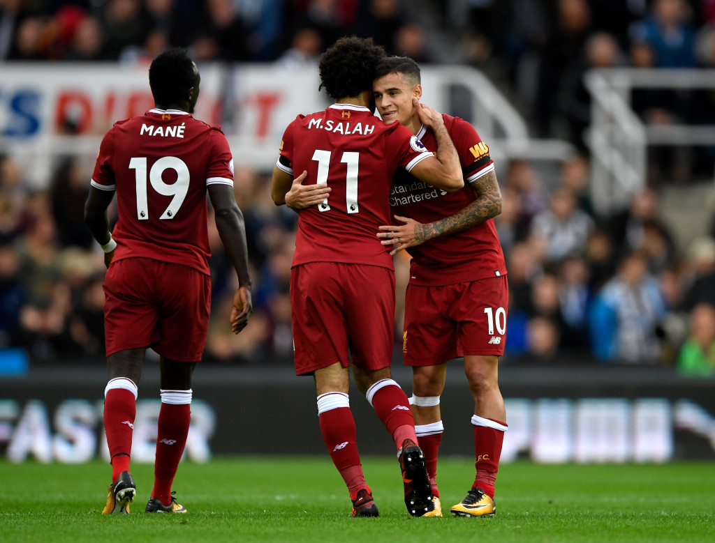 Coutinho and Salah starred for Liverpool, but Mane was less effective.