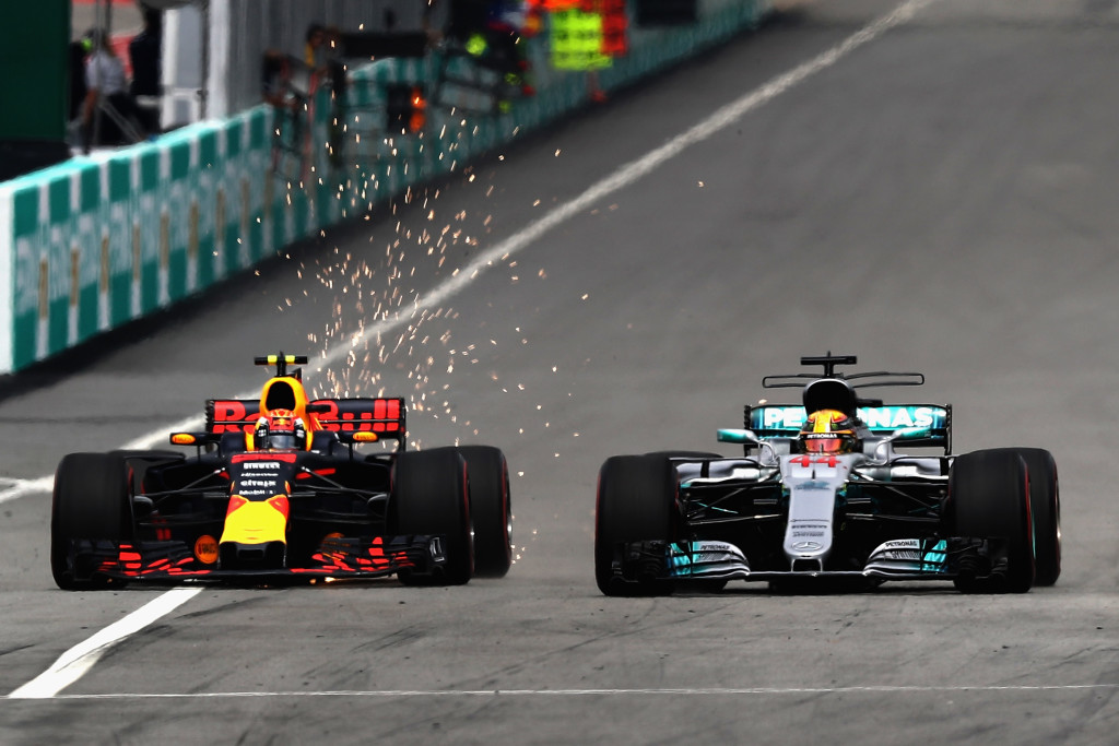 Verstappen overtook Hamilton early on and then pulled away with alarming ease.