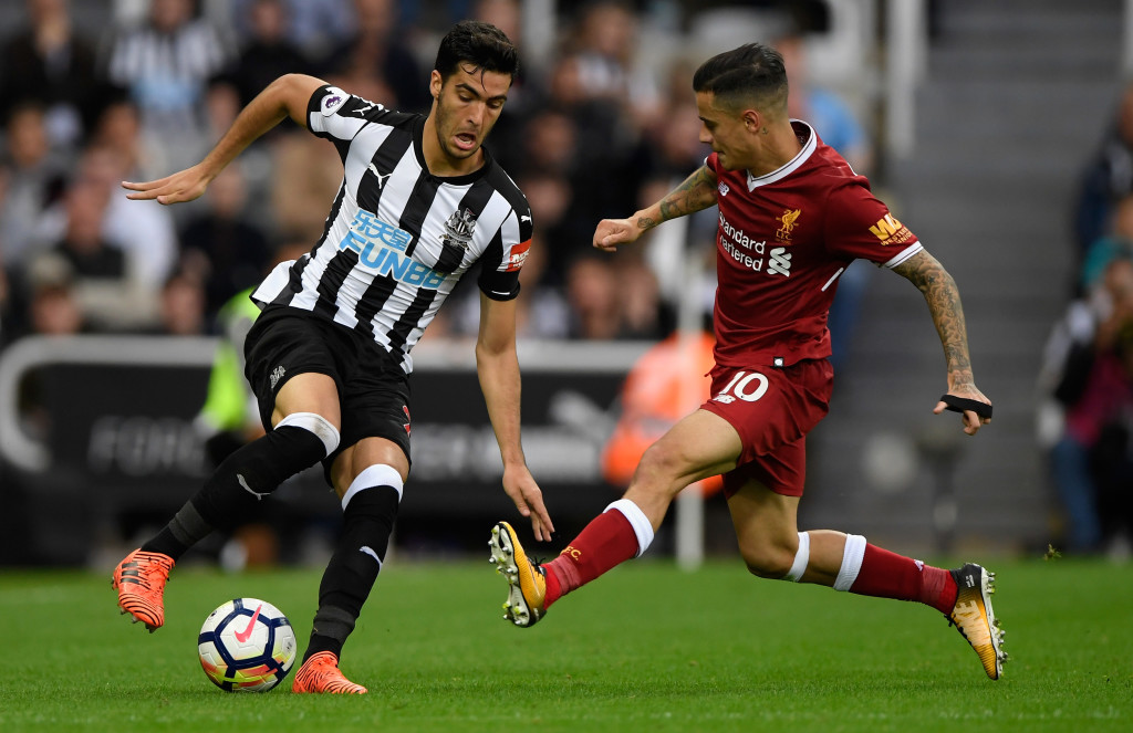 Mikel Merino put in an impressive display in the Newcastle engine room.