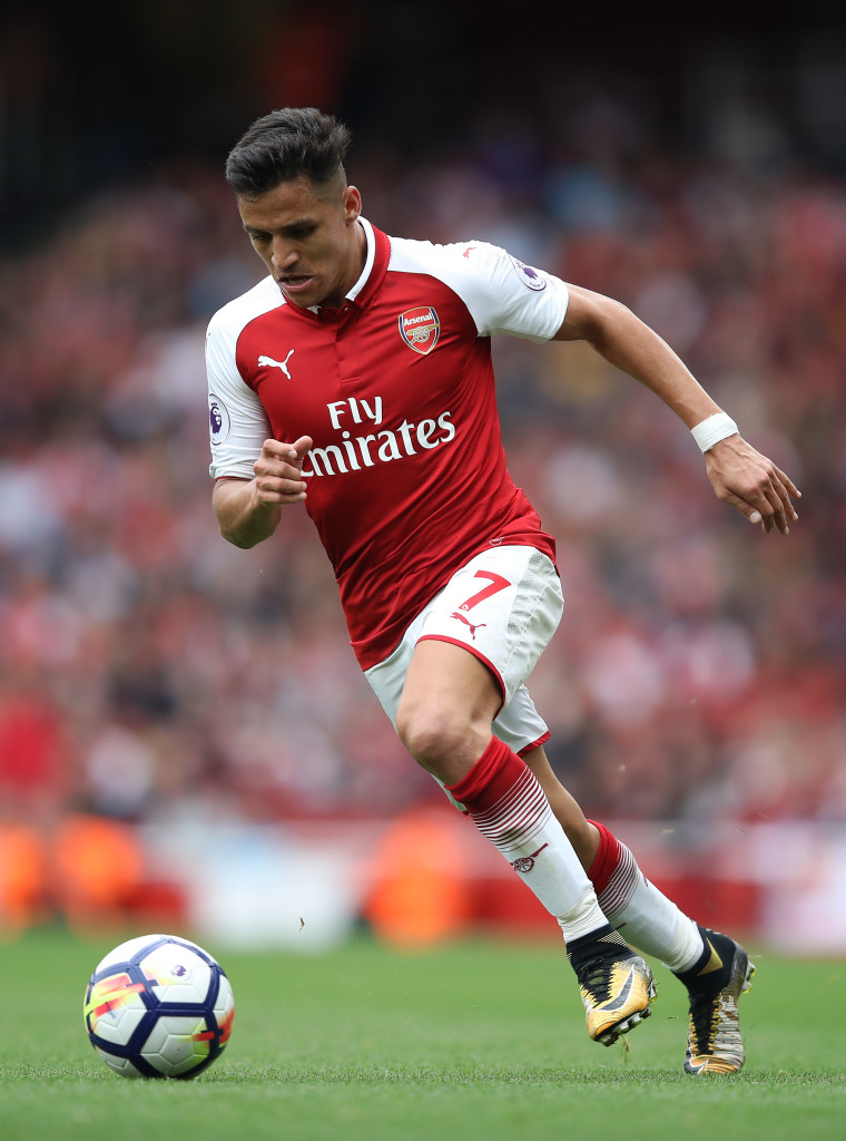 Sanchez was the driving force behind Arsenal's good play on Sunday.