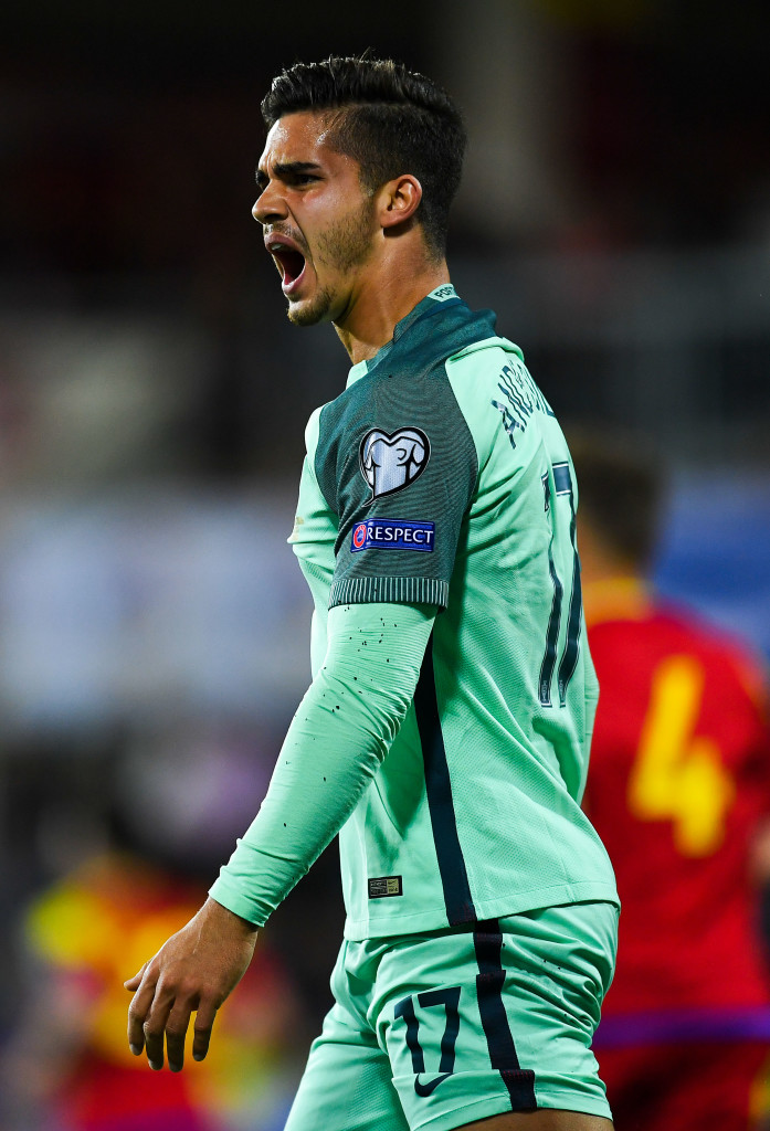 It was a frustrating day for Andre Silva - until he scored.