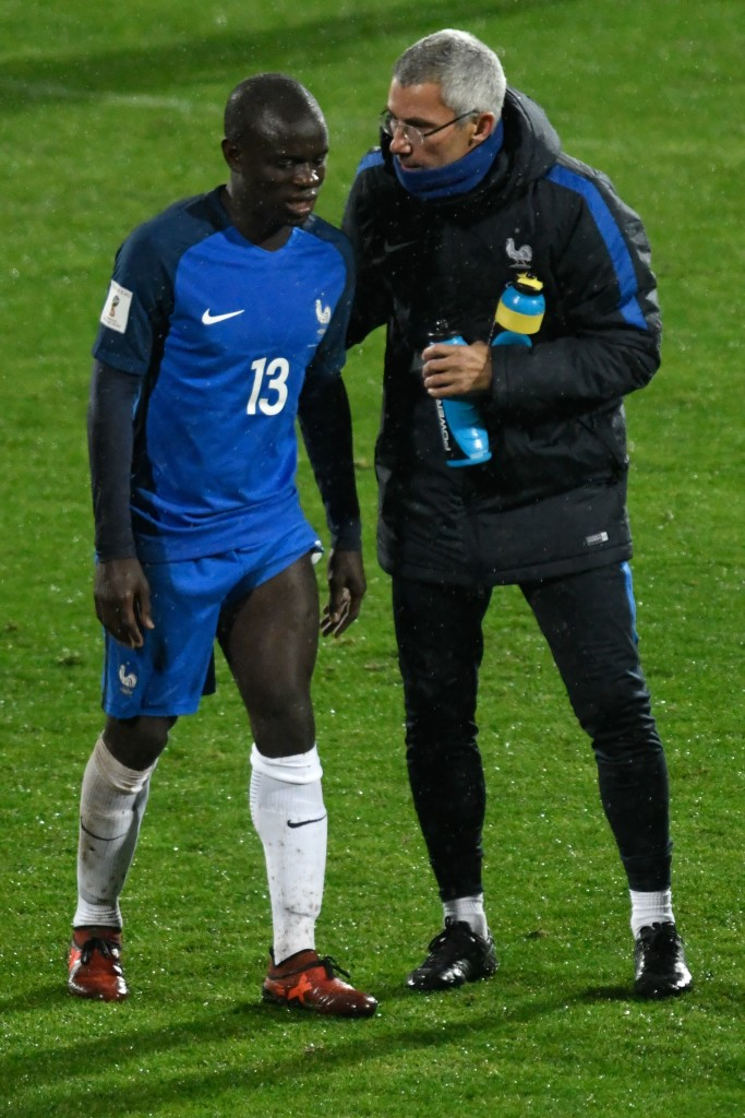 Kante has been pulled out of France's final qualifier.