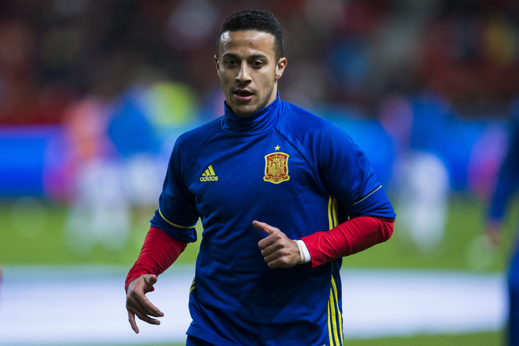 The extent of Thiago's injury is unknown.