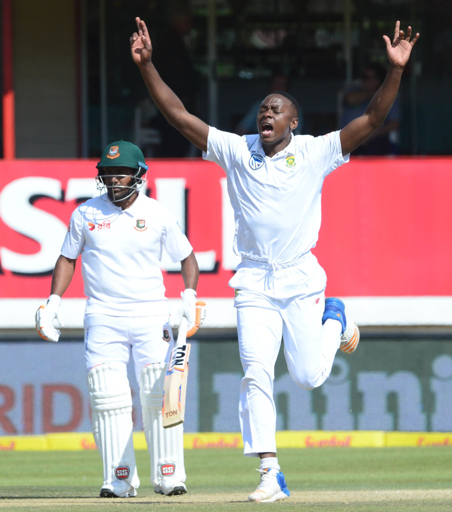 Rabada is arguably the best young Test bowler in the game at the moment.