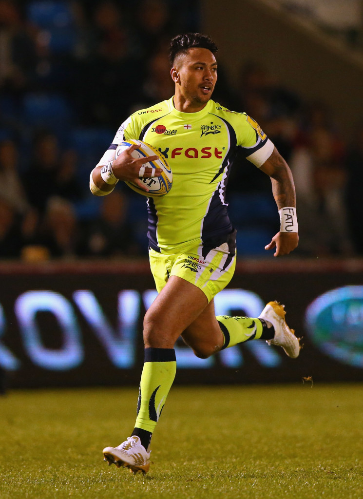 Solomona's tough upbringing prepared him for rugby.