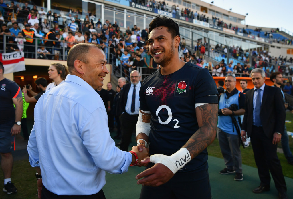 Solomona is desperate to work his way back into England coach Eddie Jones' plans.